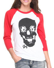Women - Death Stare Boyfriend Fit Raglan