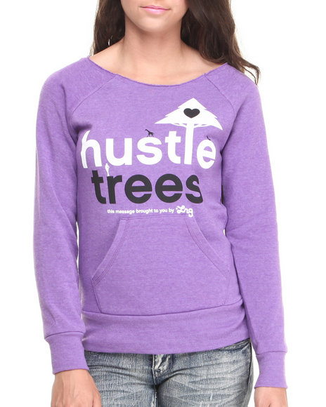 LRG - Hustles Raw Crew Neck Fleece
