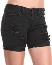 Bottoms - Savage Skinny Bermuda Shorts
