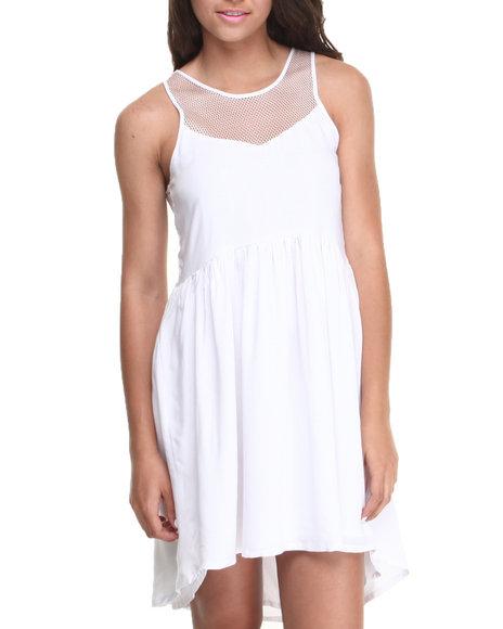 Rampage White White Dress
