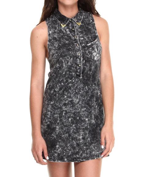 Volcom - Women Black Show Your Tips Dress