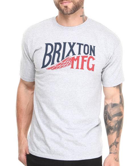 Brixton Grey Girder Tee