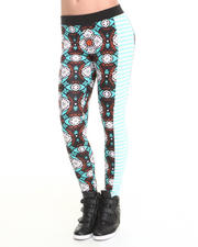 Leggings - Mixed Print Jegging