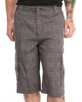 Buyers Picks - Plaid Twill Cargo Shorts