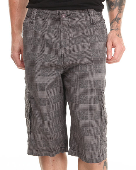 Buyers Picks - Plaid Twill Cargo Shorts