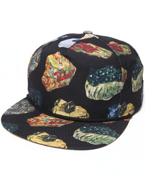Brixton Henshaw Snapback Cap Black