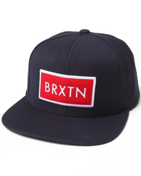 Brixton Men Rift Snapback Cap Navy