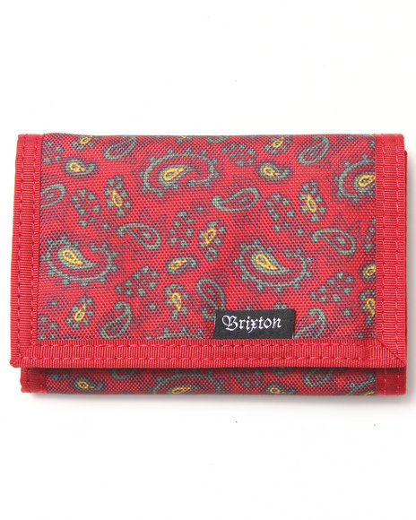 Brixton Barter Wallet Red