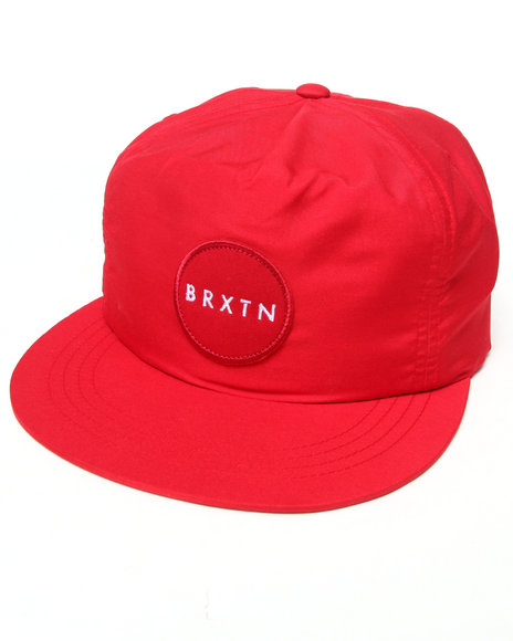 Brixton Meyer Strapback Cap Red
