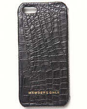 Members Only - iPhone 5 Black Gator Genuine Leather Case (Fits 5/5S)