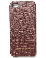 Members Only - iPhone 5 Genuine Leather Gator Print Bumper Case (Fits 5/5S)