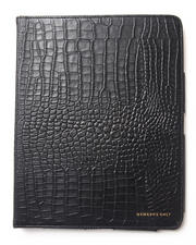 Holiday Shop - Men - iPad Gator Print Genuine Leather Portfolio Case