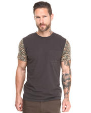DJP OUTLET - Blockade Camo Sleeve Tee