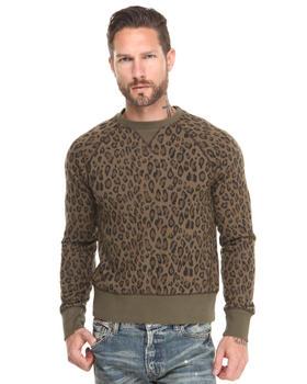 PRPS - Leopard Crewneck Sweatshirt