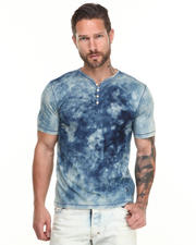 Shirts - Enzyme Bleached Henley