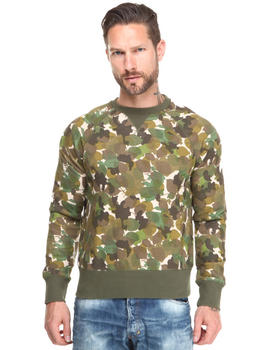PRPS - Abstract Camo Crewneck Sweatshirt