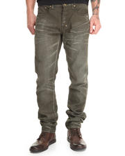 Slim - Demon Fit Infinite Olive Jean