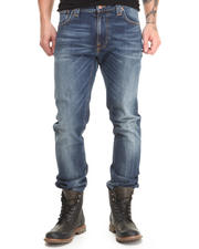 Men - Thin Finn Organic Midnight Worn Jeans