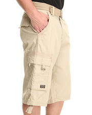 Men - Jet Setter Herringbone Cargo Shorts