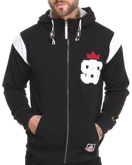 Sabit Black Tackle Hoodie