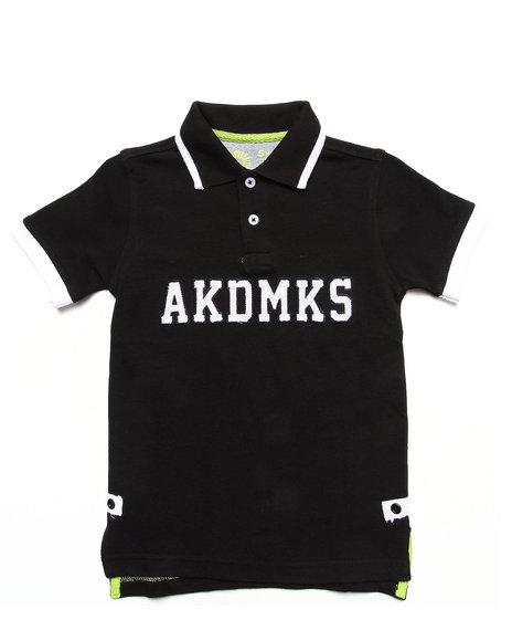 Akademiks - PIQUE AKDMKS POLO (4-7)