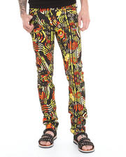 Versace Jeans - Slim Graphic Flower Pant