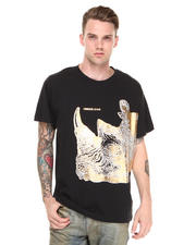-FEATURES- - Versace Foil Rhino Tee