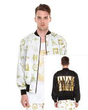 Jackets & Coats - Giza Hieroglyph Reverse Jkt
