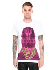 Men - Versace Pharaoh w/ Chain Tee