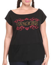 Women - Coogi Swagger Scoop Neck Tee (Plus)