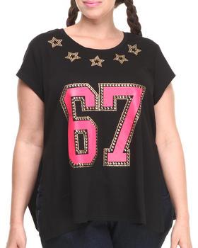 COOGI - Coogi 67 Side Slit Shirt (Plus)