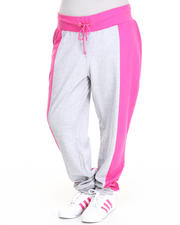 Baby Phat - Color Block Peplum Sweatpant (Plus)
