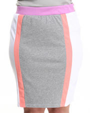 Women - Colorblock Active Skirt (Plus)