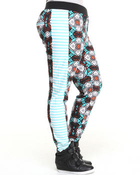 Baby Phat - Mixed Print Jegging (Plus)