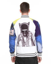 Light Jackets - Dark Pimp Varsity Jacket