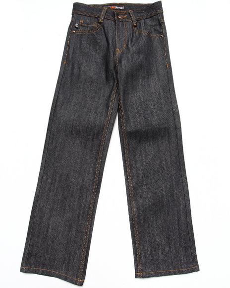 Akademiks Boys Raw Wash Rolodex Signature Jeans (8-20)