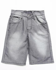 Bottoms - SHINE DENIM SHORTS (4-7)