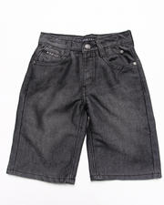 Sizes 4-7x - Kids - FLAP POCKET SHINE DENIM SHORTS (4-7)