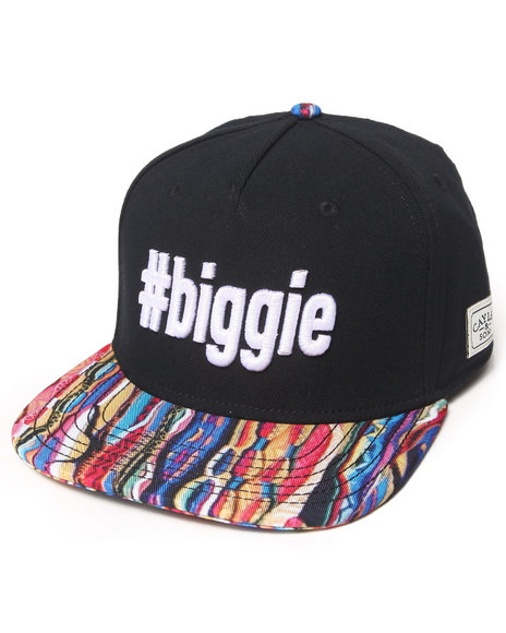 Cayler & Sons Biggie Snapback Hat Multi