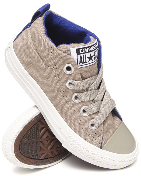 Converse - Boys Light Grey Chuck Taylor All Star Street (11-6) - $32.99