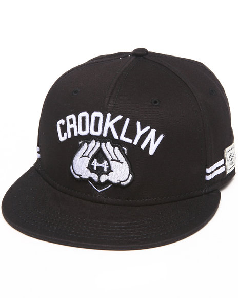 Cayler & Sons Crooklyn Snapback Black