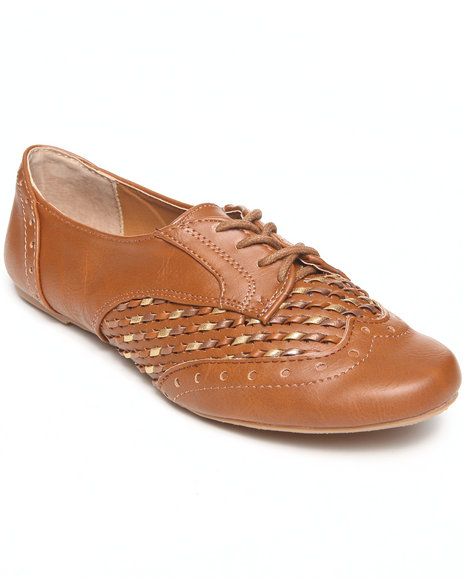 Not Rated Tan Oxfords