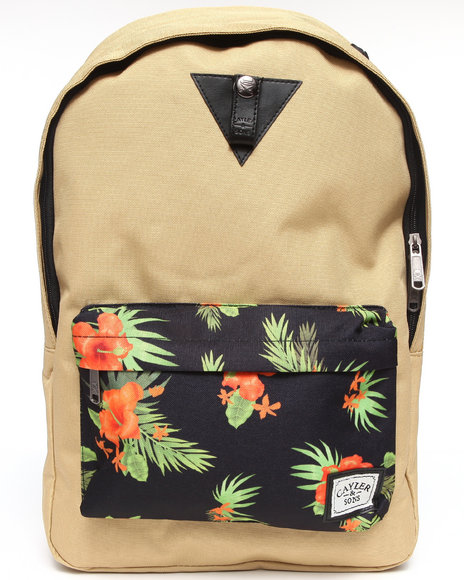 Cayler & Sons Hawaii Downtown Backpack Khaki