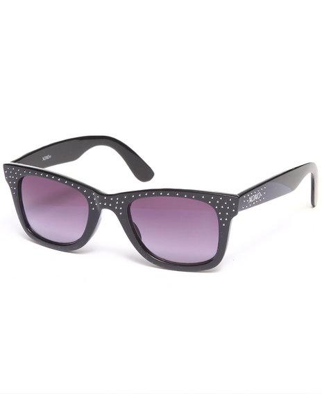 Xoxo Kitty Cat Stones Sunglasses Black