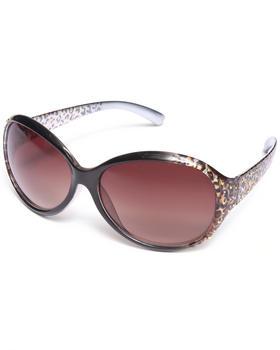 XOXO - Leopard Bling Colorblock Sunglasses