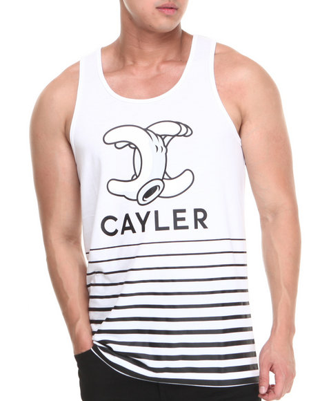 Cayler & Sons White Cayler & Son No.1 Premium Tank Top