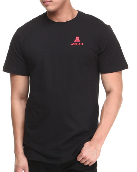 Asphalt Yacht Club - Men Black Roman A Tee