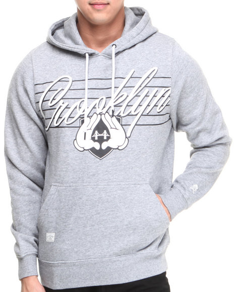 Cayler & Sons Grey Crooklyn Premium Hoodie