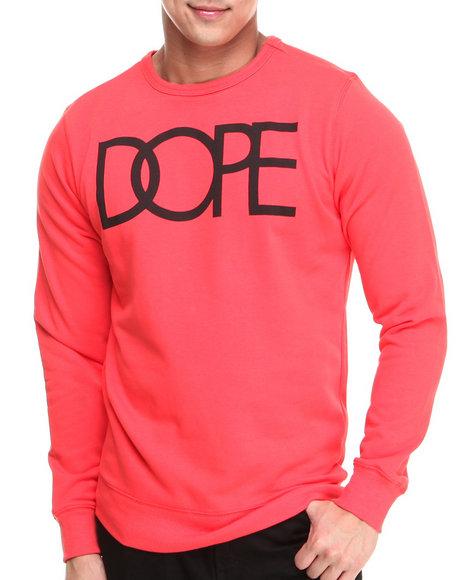 DOPE Red Dope Logo Crewneck