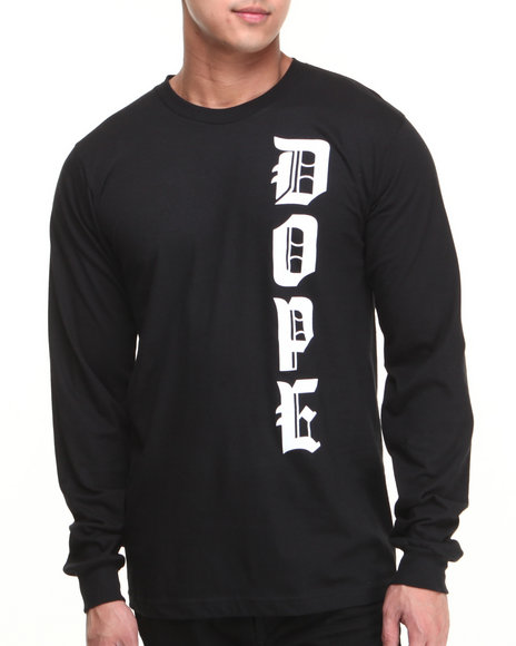DOPE Black M.O.B. Long Sleeve Tee